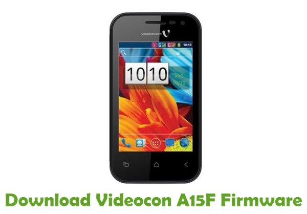 Download Videocon A15F Firmware