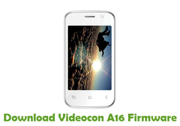 Download Videocon A16 Firmware