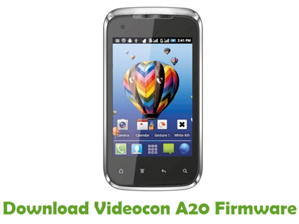 Download Videocon A20 Firmware