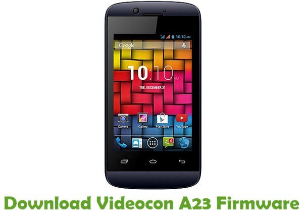 Download Videocon A23 Firmware