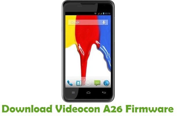 Download Videocon A26 Firmware