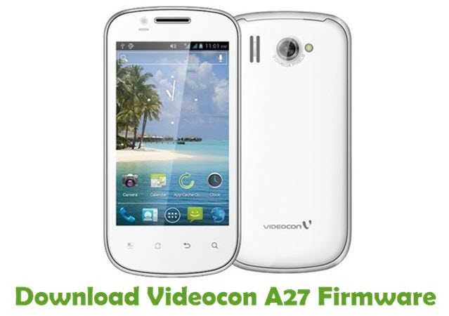 Download Videocon A27 Firmware
