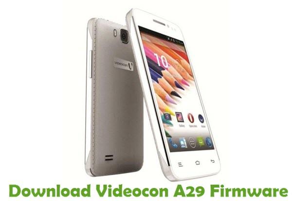 Download Videocon A29 Firmware