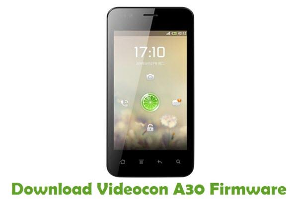 Download Videocon A30 Firmware