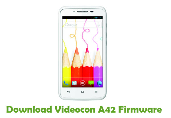 Download Videocon A42 Firmware