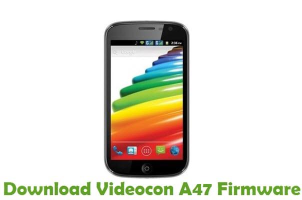 Download Videocon A47 Firmware
