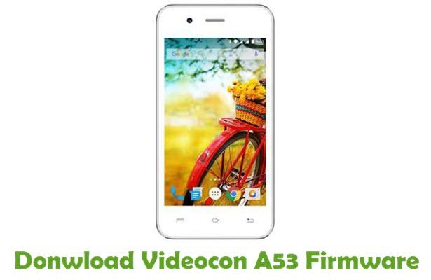 Download Videocon A53 Firmware