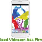 Videocon A54 Firmware