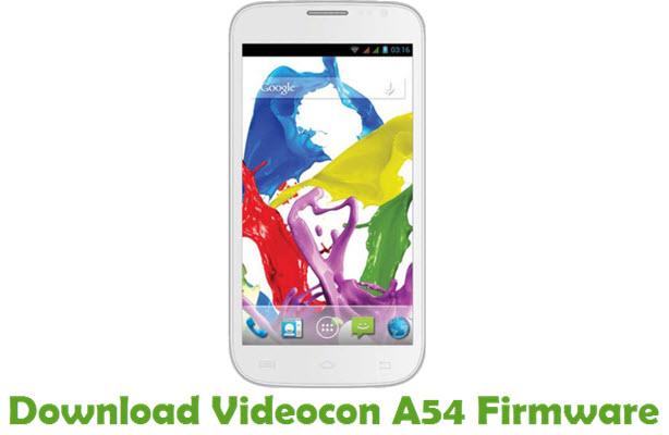 Download Videocon A54 Firmware