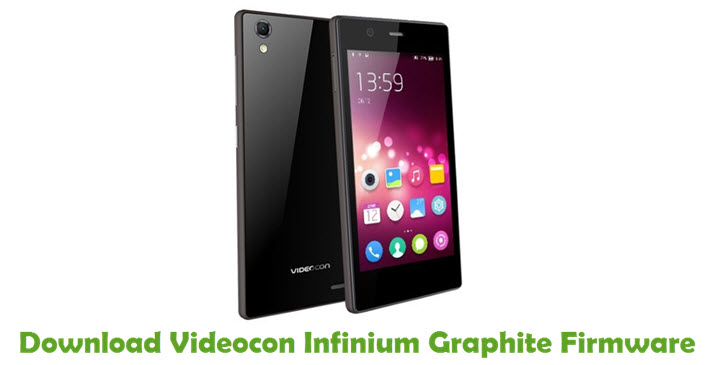 Download Videocon Infinium Graphite Firmware