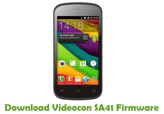 Download Videocon SA41 Firmware