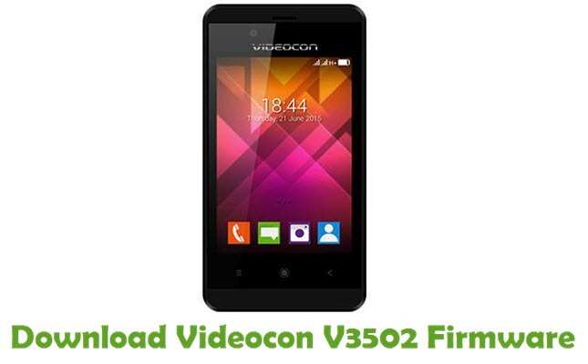 Download Videocon V3502 Firmware
