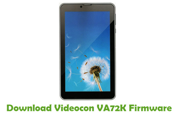 Download Videocon VA72K Firmware