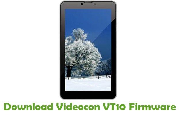 Download Videocon VT10 Firmware