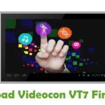Videocon VT7 Firmware