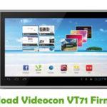 Videocon VT71 Firmware