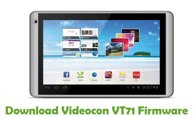 Download Videocon VT71 Firmware