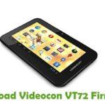 Videocon VT72 Firmware