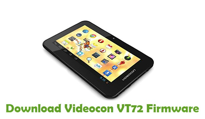 Download Videocon VT72 Firmware