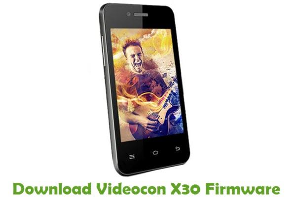 Download Videocon X30 Firmware