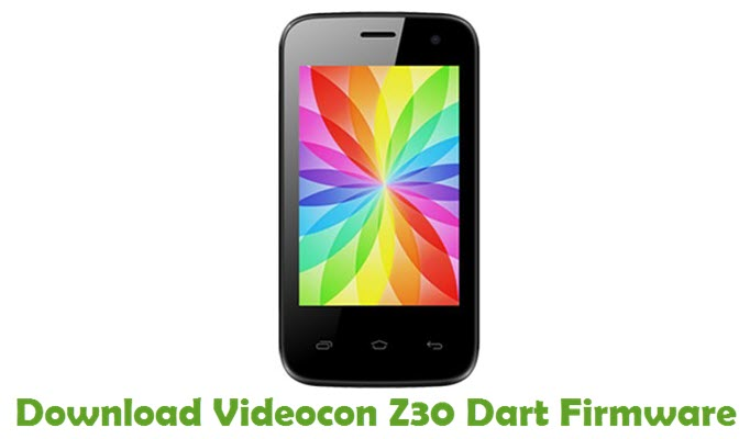 Download Videocon Z30 Dart Firmware
