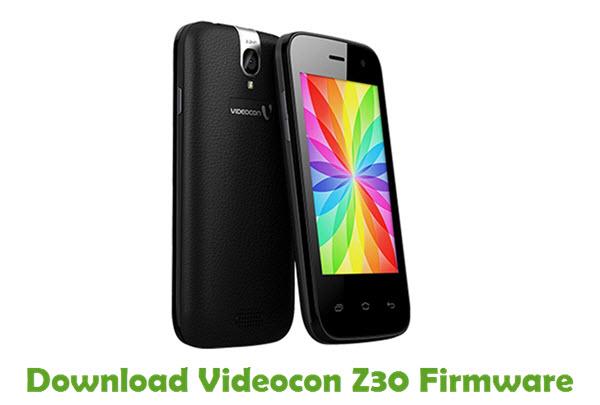 Download Videocon Z30 Firmware