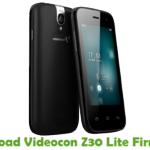 Videocon Z30 Lite Firmware