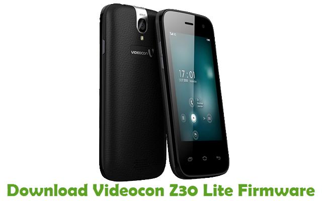 Download Videocon Z30 Lite Firmware