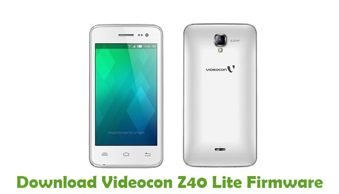 Download Videocon Z40 Lite Firmware