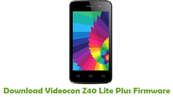 Download Videocon Z40 Lite Plus Firmware