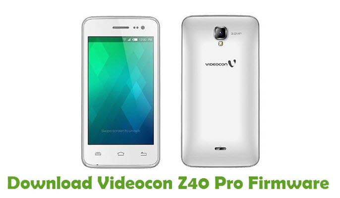 Download Videocon Z40 Pro Firmware