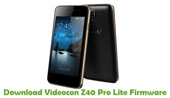 Download Videocon Z40 Pro Lite Firmware