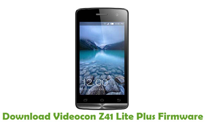 Download Videocon Z41 Lite Plus Firmware
