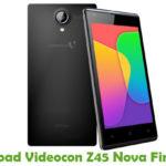 Videocon Z45 Nova Firmware
