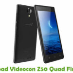 Videocon Z50 Quad Firmware