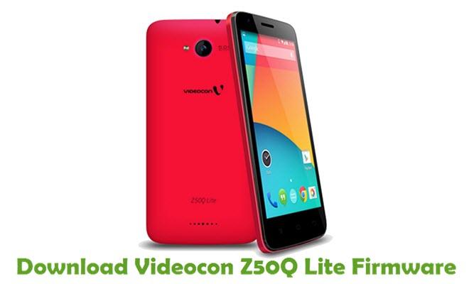 Download Videocon Z50Q Lite Firmware