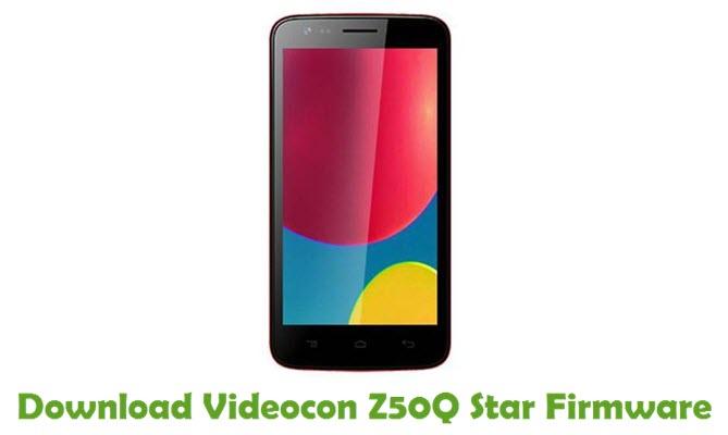 Download Videocon Z50Q Star Firmware