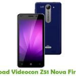 Videocon Z51 Nova Firmware