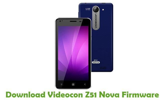 Download Videocon Z51 Nova Firmware
