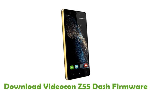 Download Videocon Z55 Dash Firmware