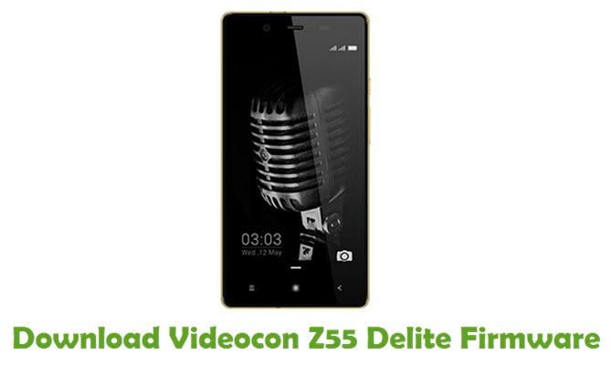 Download Videocon Z55 Delite Firmware