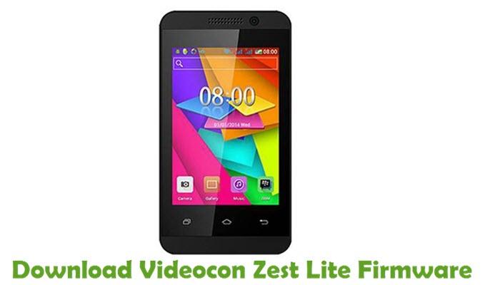 Download Videocon Zest Lite Firmware