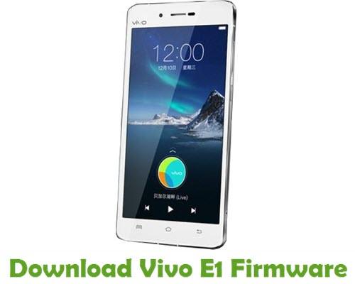 Download Vivo E1 Firmware