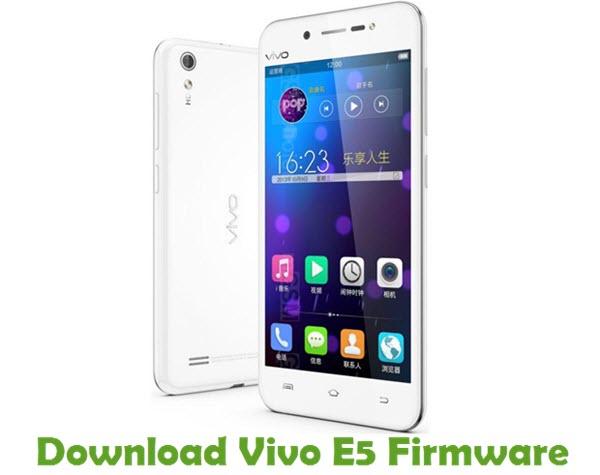 Download Vivo E5 Firmware