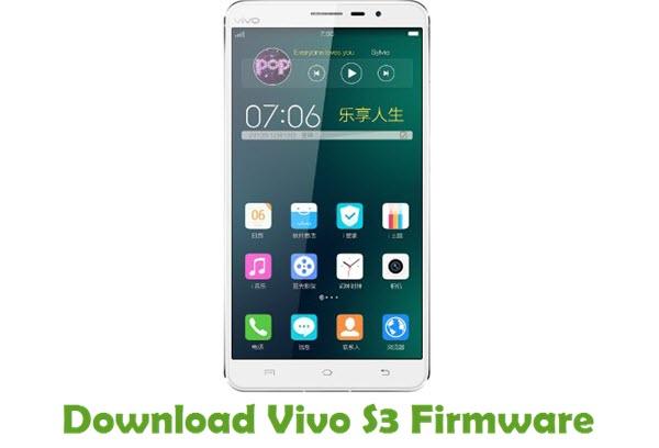 Download Vivo S3 Firmware