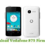 Vodafone 875 Firmware