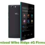 Wiko Ridge 4G Firmware