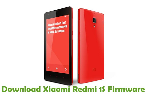 Download Xiaomi Redmi 1S Firmware