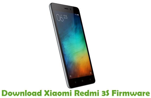 Download Xiaomi Redmi 3S Firmware