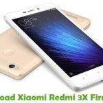 Xiaomi Redmi 3X Firmware